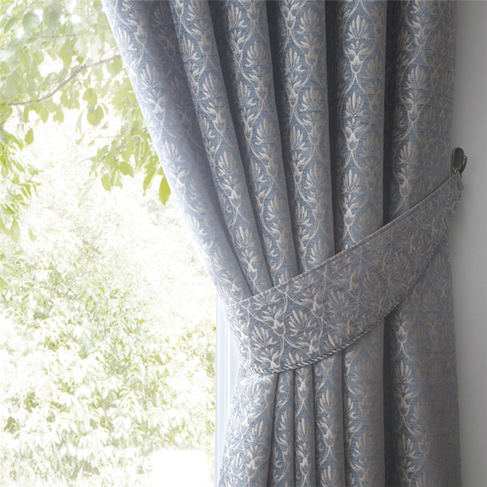 Pure color customized turkish design sitting room curtains