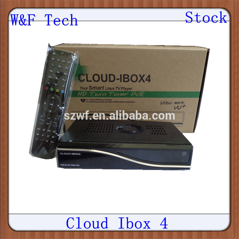 Linux os media player nuage ibox4 500 mhz dvb-s2 double tuner pvr clould- ibox