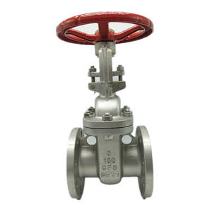 ANSI CF8 WCB Flange End Stainless Steel Gate Valve
