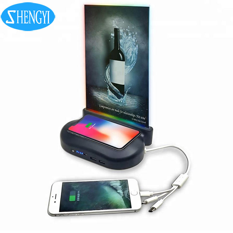 Hot Product Trends 300000Mah Powerbank Wireless Charging Restaurant Powerbank