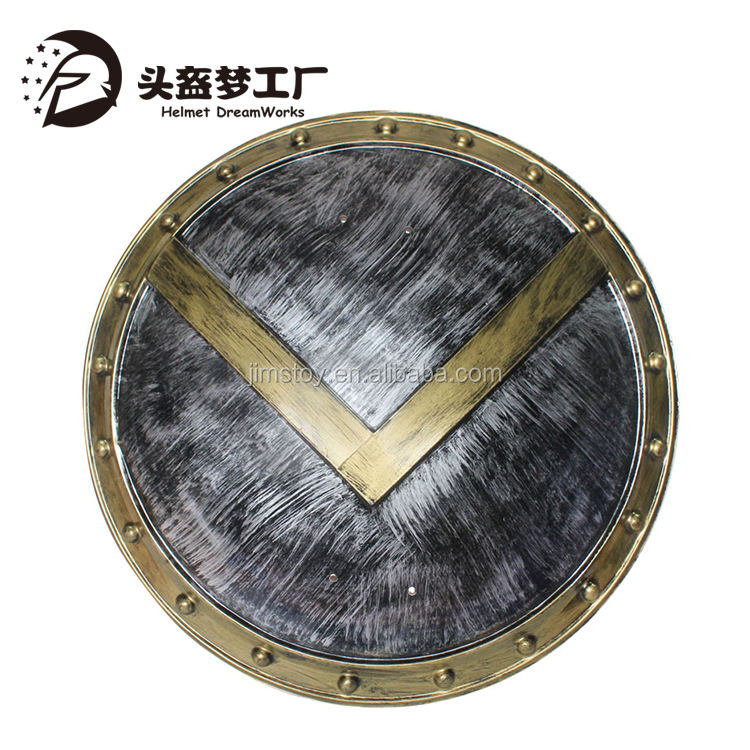 chenghai manufacturer wholesale classic toy medieval roman shield