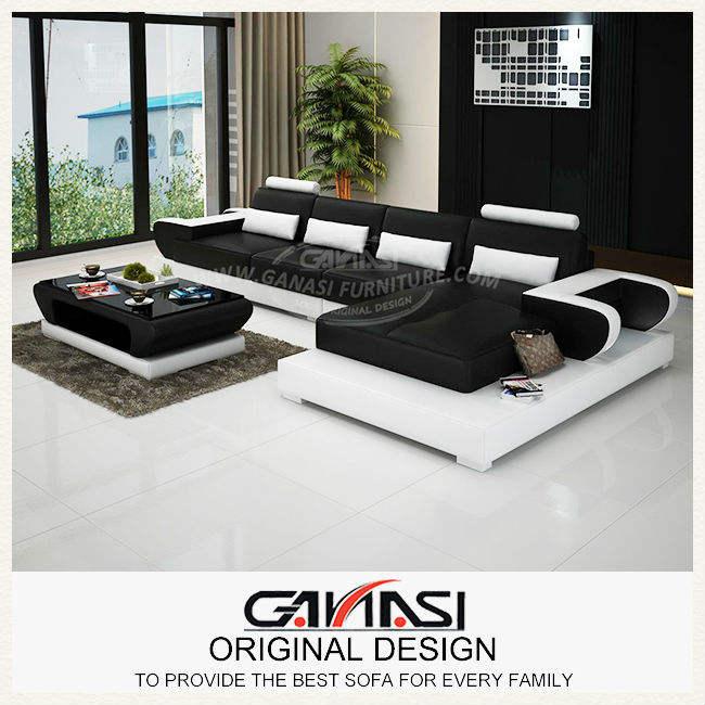 Ganasi l- sofá en forma de conjunto, tela mobiliariodesala, muebles para el hogar decoración
