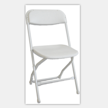 garden furniture camping White  wedding party event metal plastic folding chair