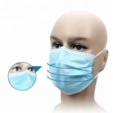 CE Disposable 3ply Ear loop & Tie On Face Mask