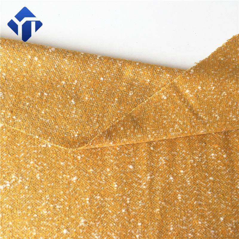 Fancy woven acrylic fabric for dresses