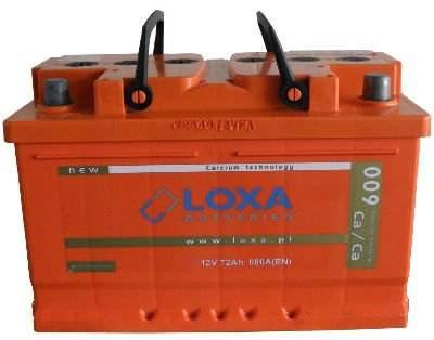 75Ah/720A LOXA Car Battery