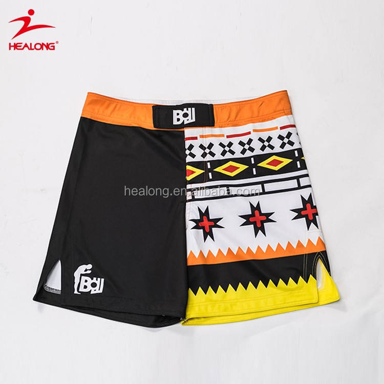 Sublimation Men Fight Shorts Wholesale Blank Custom Make Your Own Mma Shorts