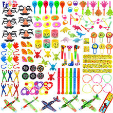 Amazon Hot Selling 120PCS Carnival Prizes Birthday Party Favors Toy Assortment for Kids