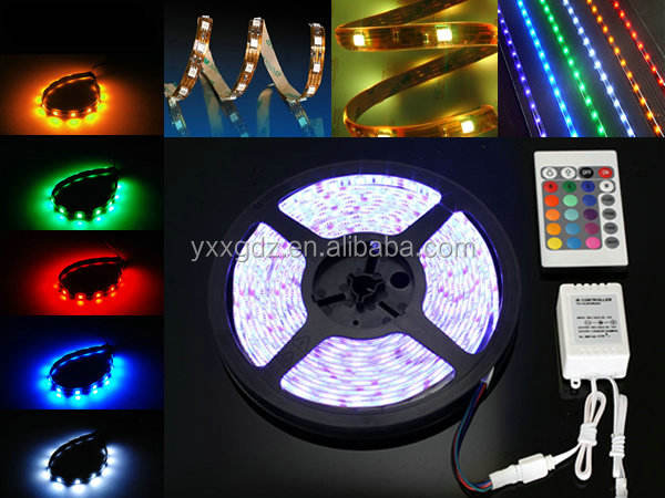 DC12V Waterproof 5050 rgb led light hose