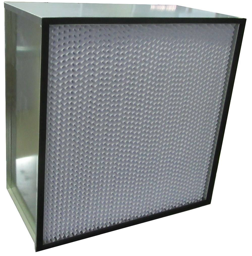 AHU Ventilation System Pleated Panel Hepa Filter Price