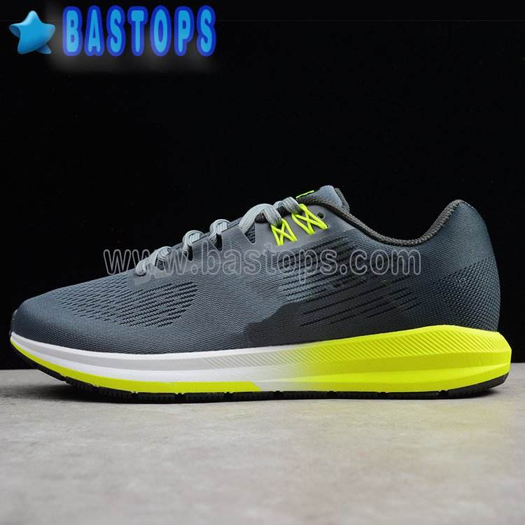 Zoom Structure 21 W Wide Grey Anthracite Men Running Shoes