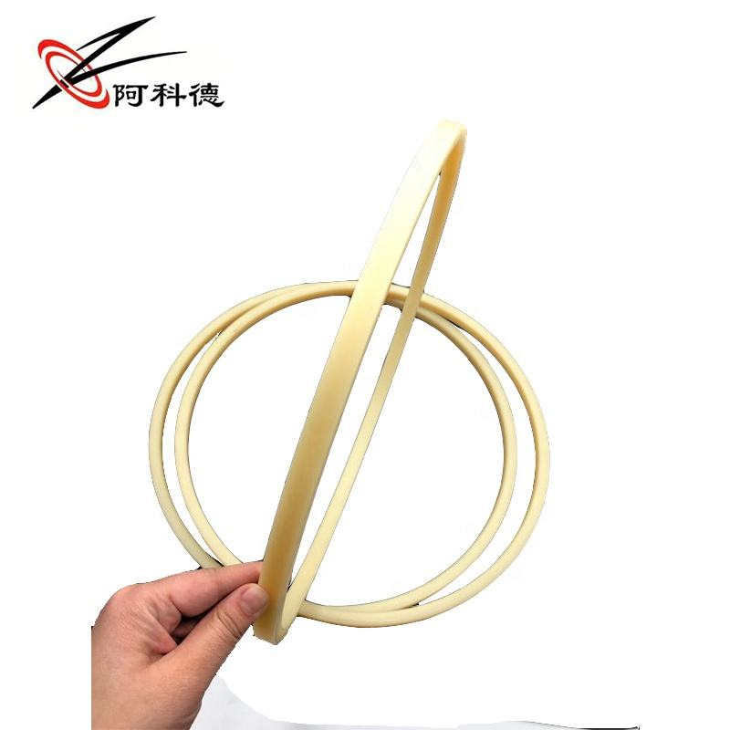nylon custom made plastic ring around plastic ring seal flat O support hydraulic buffering ring MC nylon backup gasket