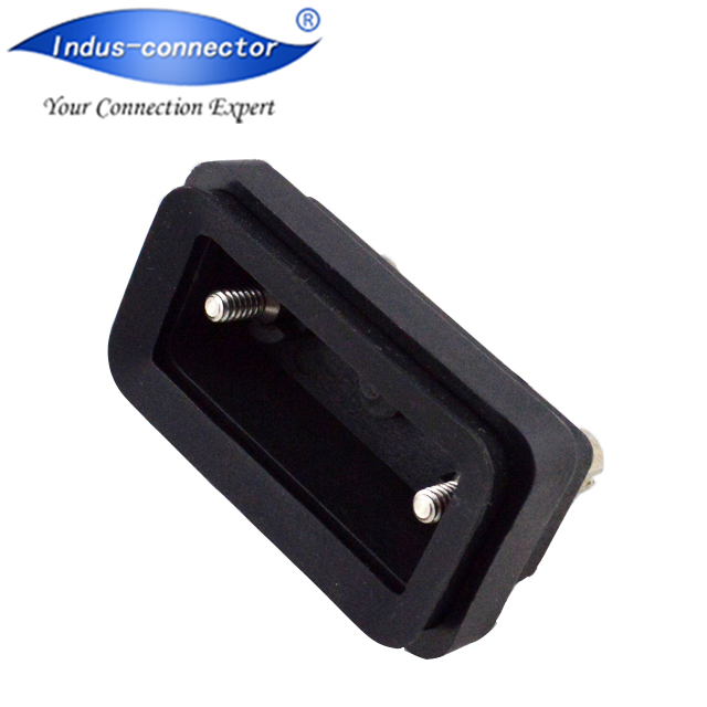 Ip67 waterproof d-sub Cover for db 9 pin 15 pin connector