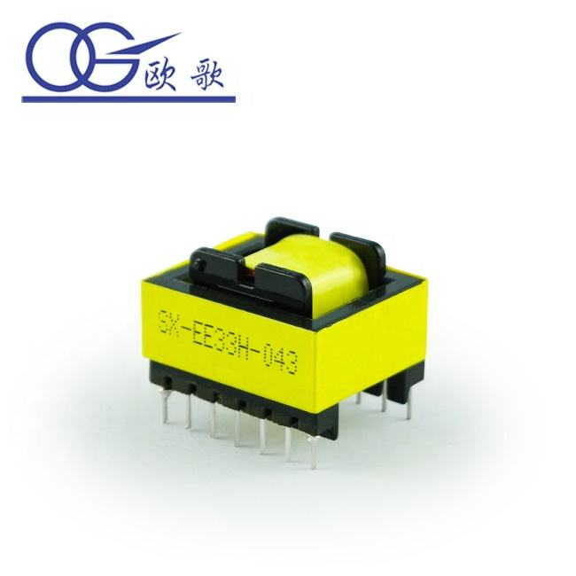 EE30 horizontal / EI /EF/EER/EFD Switching Power Transformer,Electrical Transformer,High Frequency Transformer