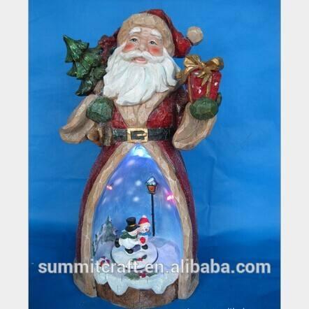 Из светодиодов новогоднее украшение смолаы санта-клаус-младший 2014 100 лучших рождественских подарков 2013