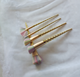New 5pcs Unicorn spiral handle helix makeup brush cosmetic tool