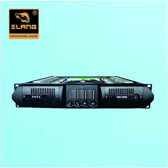 Sistem Pa 4X800 W Kelas H High RMS Profesional Power Amplifier