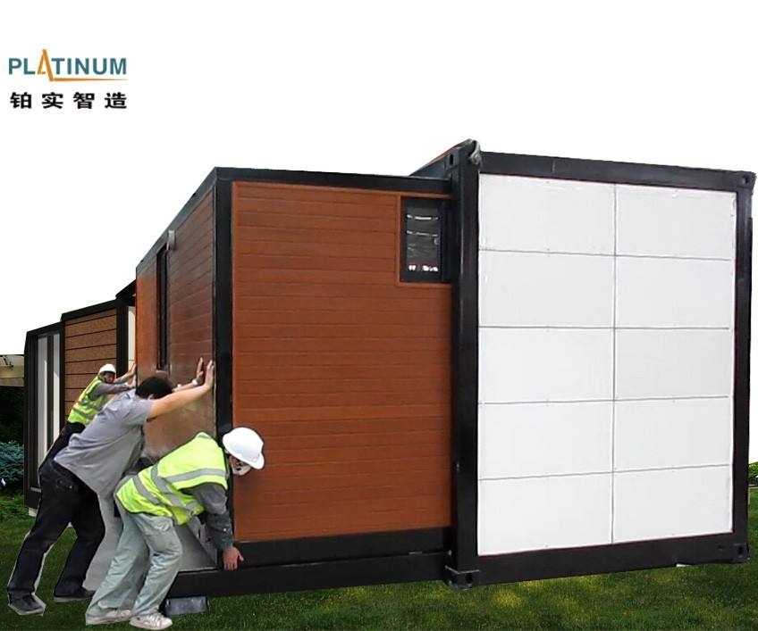 Modular Prefab Container Living house 20ft Expandable Prefab House