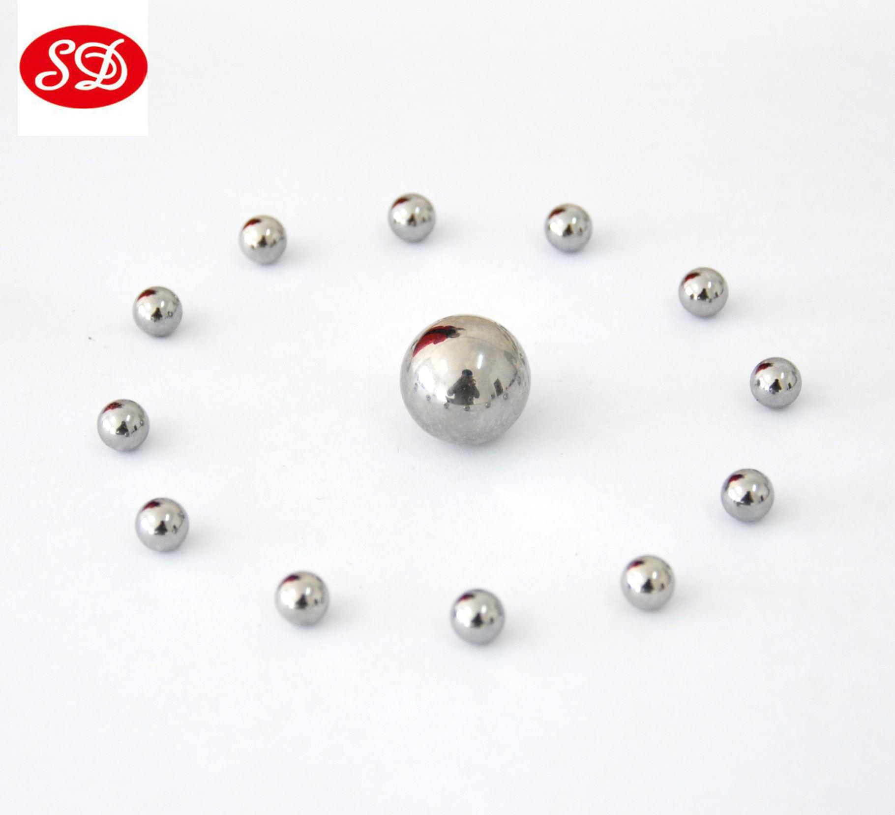 Wholesale bright surface carbon steel balls 7mm 8mm 9mm