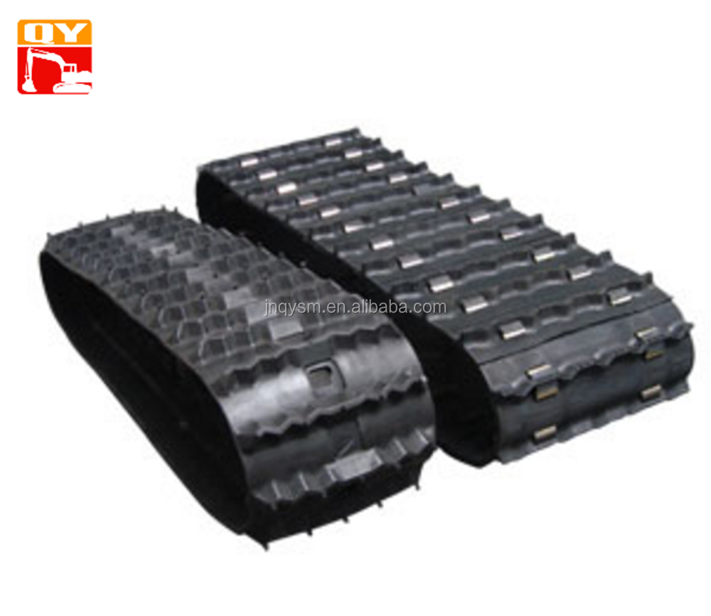 cheap Snow bike rubber tracks,small rubber track