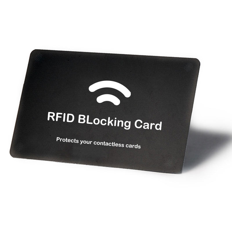 Wholesale Portable Rfid Scan Shield Protect Credit Rfid Blocking Card