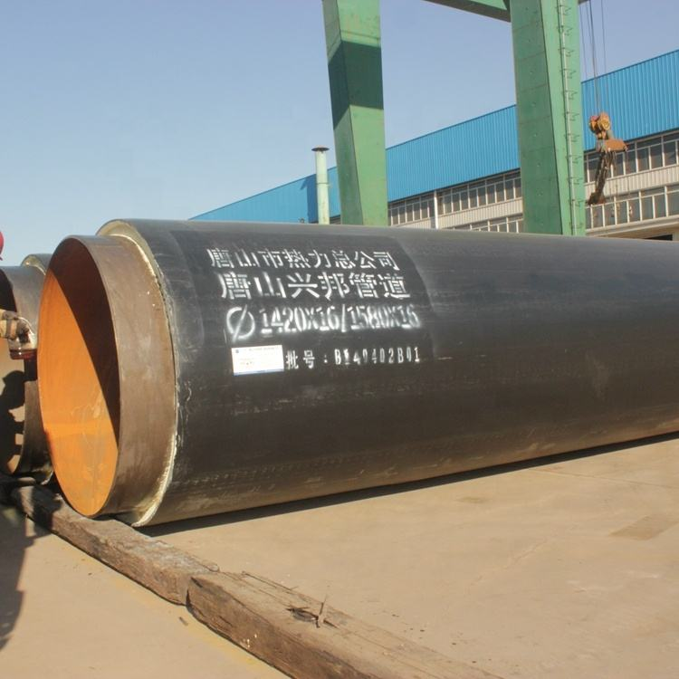 A pre-insulated steel pipe system for district heating, cooling and special applications astm a335 p5 steel pipe