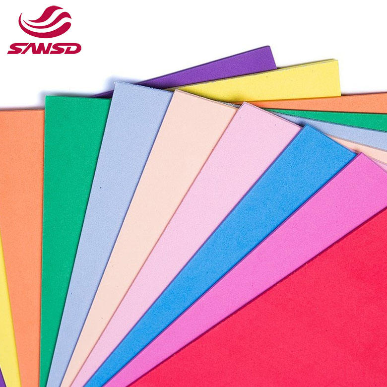 Closed Multi Color Cell EVA Foam Board Thick Eva Foam Sheet