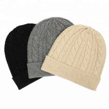 Winter acrylic knitted hip hop beanie hat