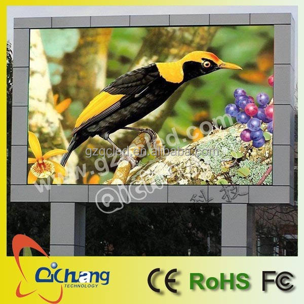 Zonsopgang outdoor full color led scherm/reclame display van shenzhen fabrikant