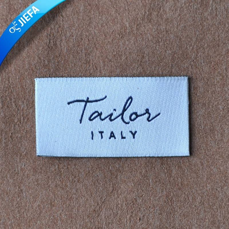 Wholesale Color Custom clothing logo Woven Label
