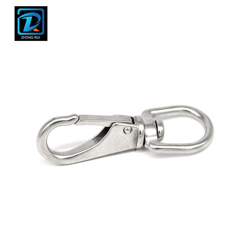 A2 70 304 Stainless Steel Swivel Eye Spring Snap Hook