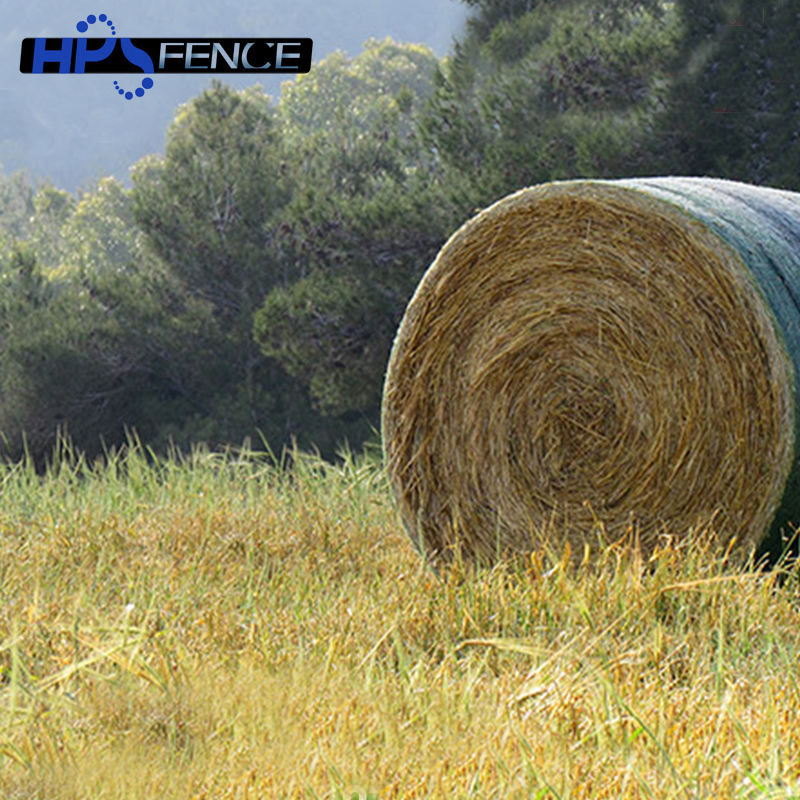Hdpe anti uv agricultural white packing hay wrap bale net