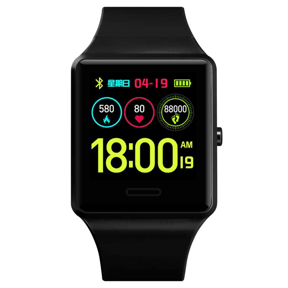 2019 Newest Bluetooth 18 Multi Smart Watch wholesale SKMEI 1526 with Camera GPS Heart Rate Healthy Sport Smart Watch