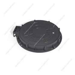 Hinged Manhole Cover BS EN124/ C/O600 Manhole Cover with hinge and lock