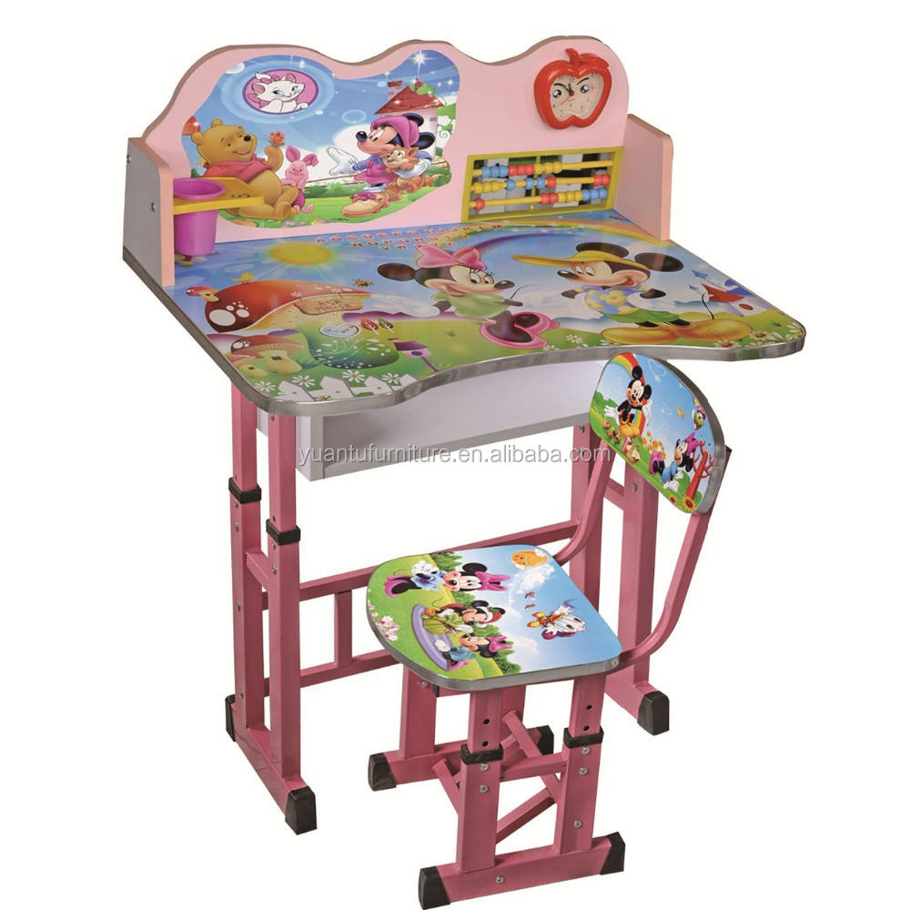 2015 Children Table and Chair Kids Study Table Kids Bedroom Furniture XD-529