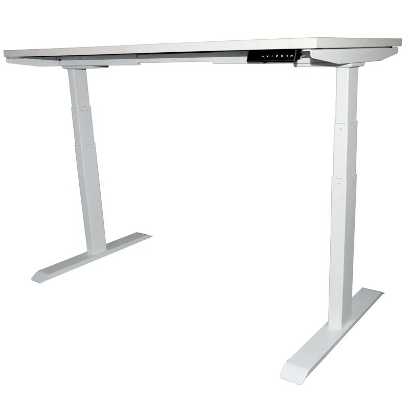 Hot metal frame legs office work study desk electric height adjustable table
