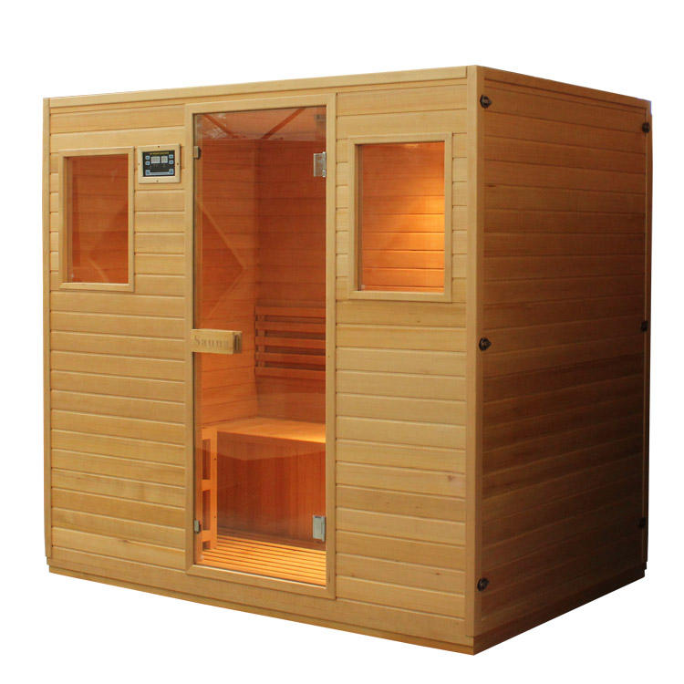 Ideal health mate far infrared electrical resistance dry sauna