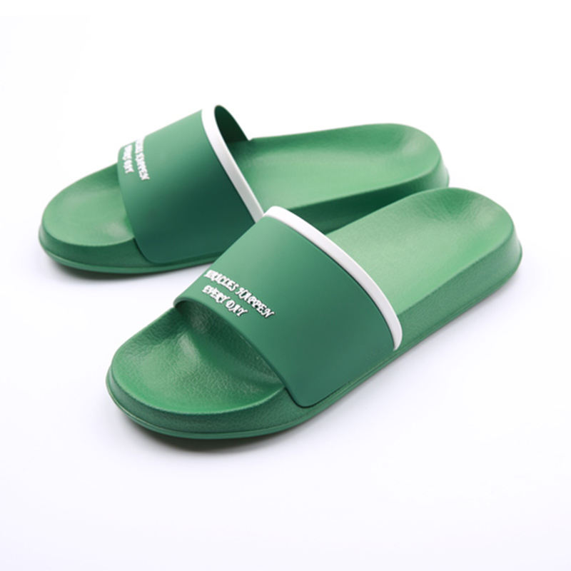 Fashion PVC Sliders Slippers For Men Custom Logo,Sandal Mens Custom Slides Footwear,Custom Logo Blank Slide Sandals Men Slippers
