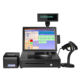 Register Machine 15'' Touch Screen All In 1 POS System/cash Register/cashier POS Machine