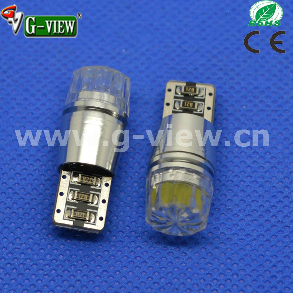 高輝度T10 Canbus3Wダイヤカット キャンセラー内蔵 COB LEDカーランプ 室内灯