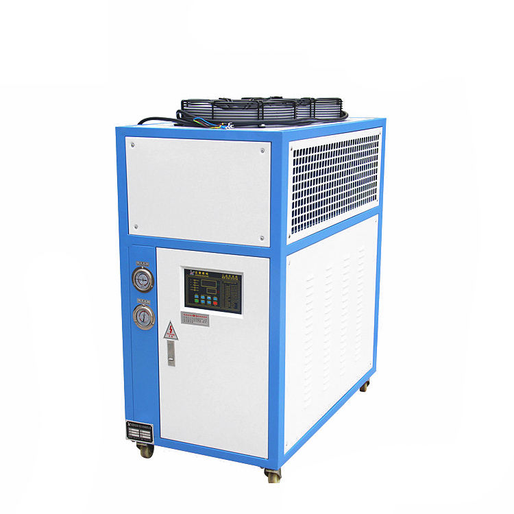 Industrial Air Cooled Chiller with Stainless Steel Water Cooler Tank for Swimming Pool