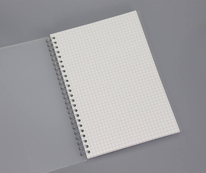 One Color Print Wholesale Price custom dot grid notebook