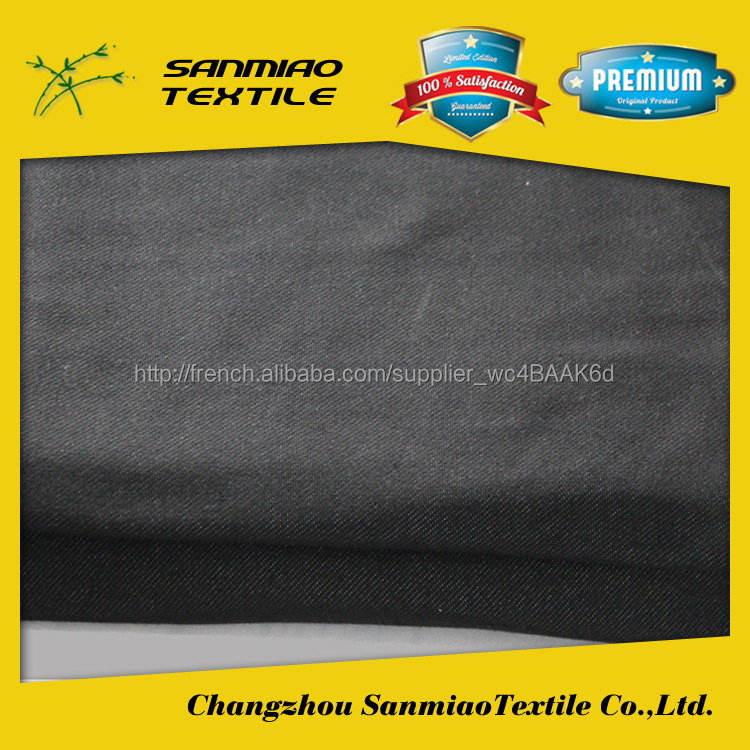 Sanmiao marque élégant nouveau style nouveau design brossé <span class=keywords><strong>velours</strong></span> canapé tissu denim tricot WHTP-5001