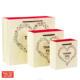 Thank you custom design wedding gift luxury paper bag