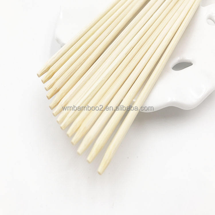 40センチメートル/<span class=keywords><strong>16</strong></span>インチBamboo Skewers Natural Wooden Skewers SticksためBBQ Cocktail Shish Kabobs Party Essentials 100 Pieces