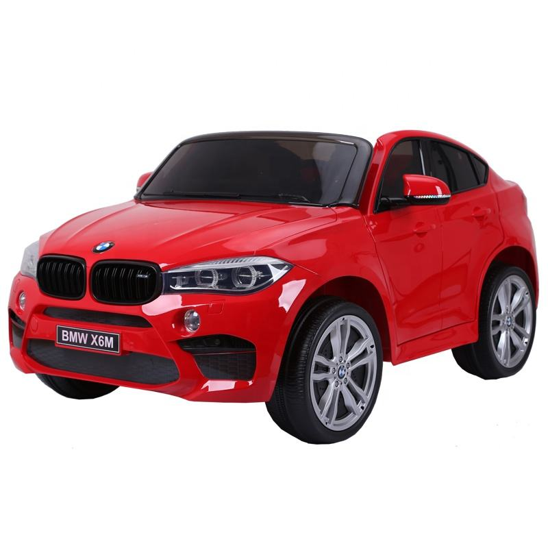 Popular Licensed BMW X6M Four Wheels Drive Kids Children Toys Car Electric Ride on Cars