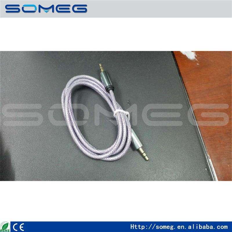 Mới design1m/1.5m/2m/3m/5m tốc độ cao nam 3 RCA video av cáp âm thanh nam nam headphone splitter jack 3,5