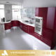 Kitchen Cabinet Import Kitchen Cabinet 2018 Vermont Red Color Lacquer Painting Modern High Gloss Kitchen Cabinet