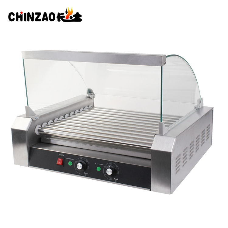 CE Approval Hot Dog Roller Grill/Hotdog Griiling Machine