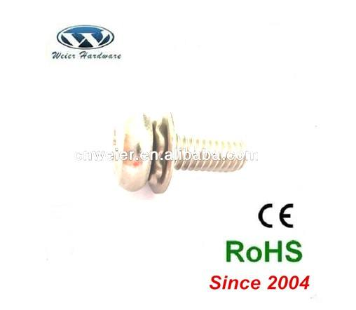 USA Market sems screw 와 external tooth lock 세탁기